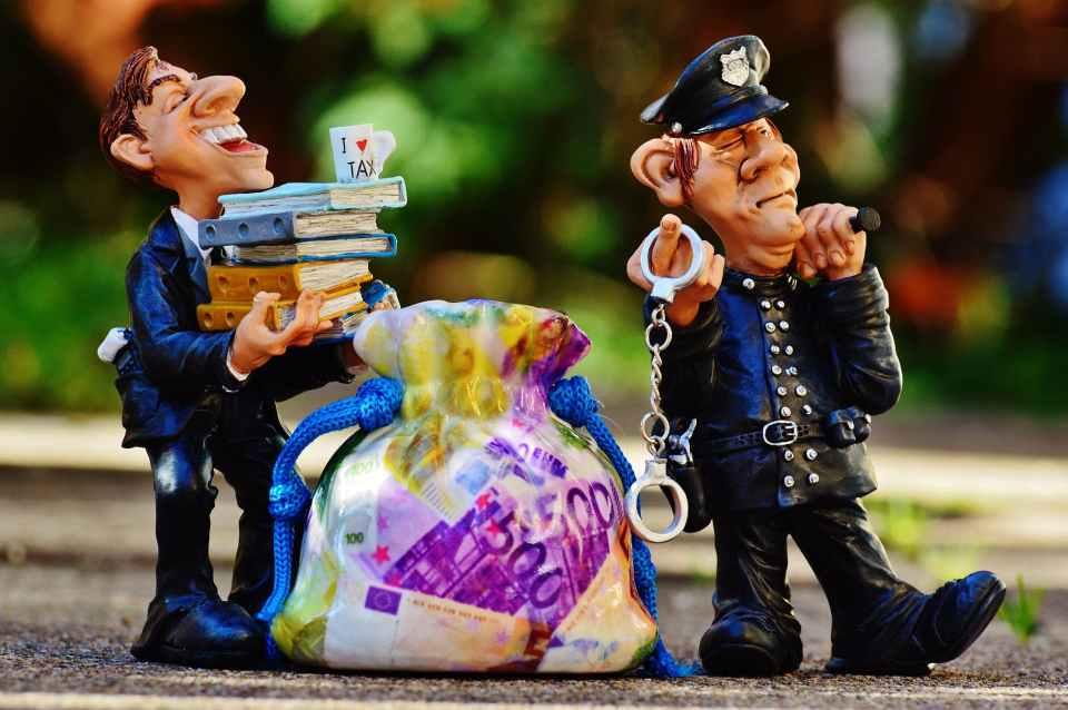 police money finance funny
